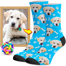 dog face socks | facecustomsocks.com
